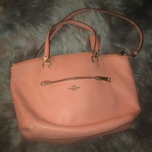 *USED ONCE* Pink Coach Crossbody